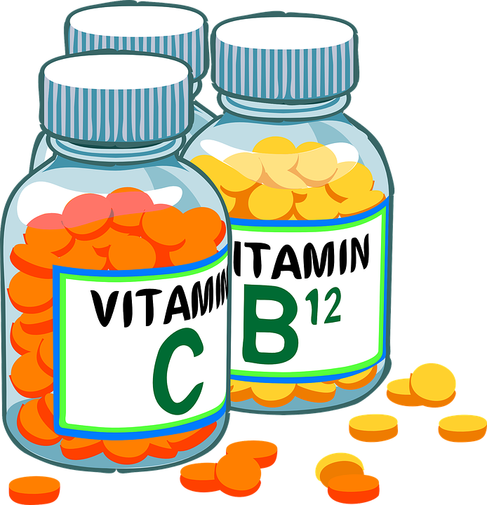 vitamin c, vitamin b12, supplements, canker sores