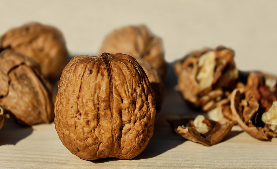 Walnuts, bedwetting
