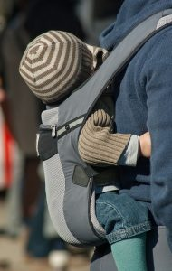 Baby, baby carrier