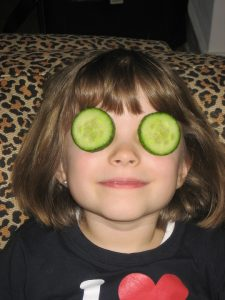 cucumber, eyes, eye infections