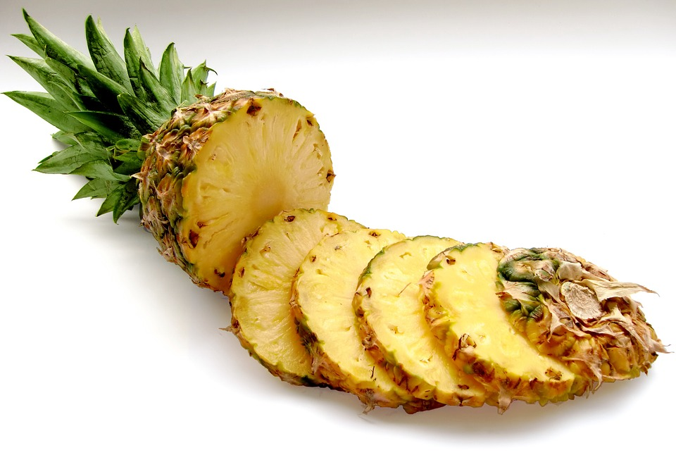pineapple, COPD, fruit