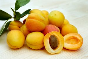 apricot, fruit, fiber