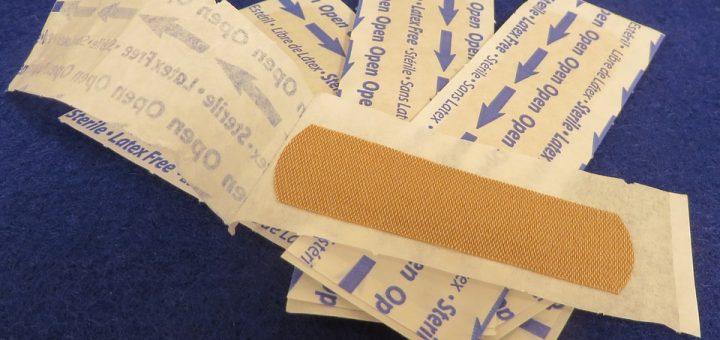 bandage, wound, cut, avocado