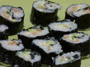 sushi, nori, rice, fish, hyperthyroidism