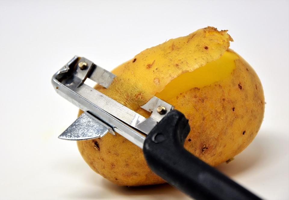 potato, boils, potato skin, ingrown hair