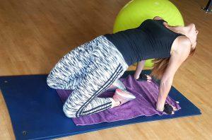 bridge pose, yoga, exercise, belly fat