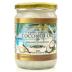 coconut oil, ad, shop