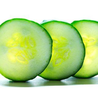 cucumber, chapped lips, sensitive teeth