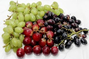 grape, fruit, skin