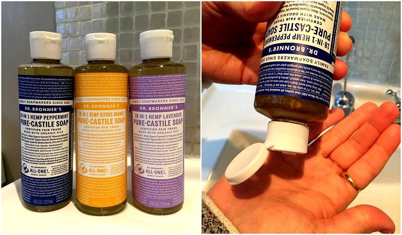 castile soap, face wash