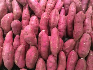 sweet potatoes, colon cleansing