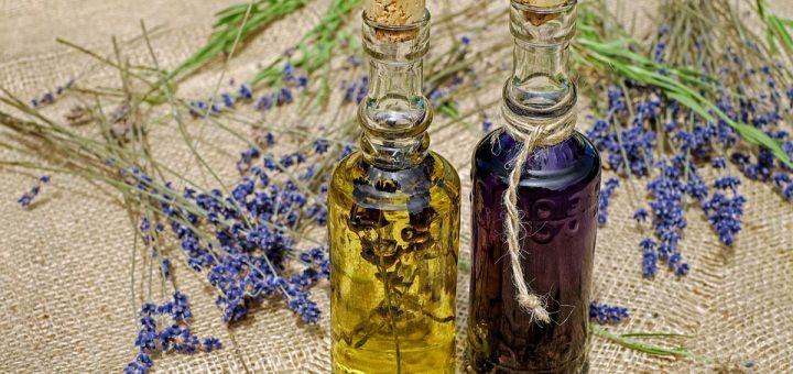 lavender oil, lavender, essential oil