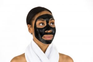 activated charcoal, face mask, spa