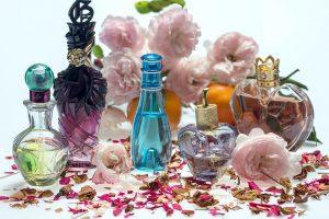 perfume, cosmetics