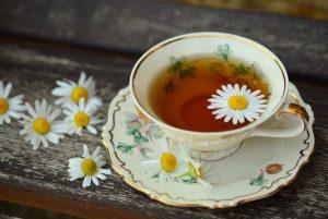 camomille, thé thé à la camomille