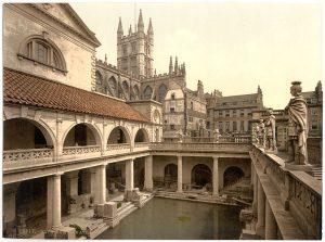 bath, bathhouse, ancient Rome