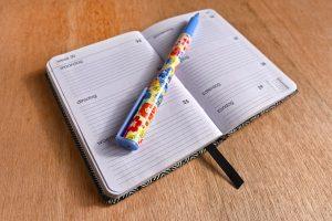 planner, agenda