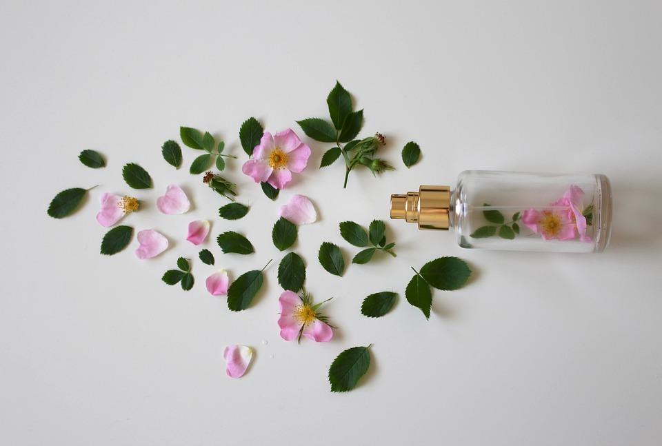 Perfume, flower, roses
